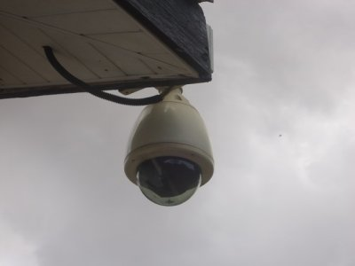 gal_Speed Dome Camera at Legon exam Center